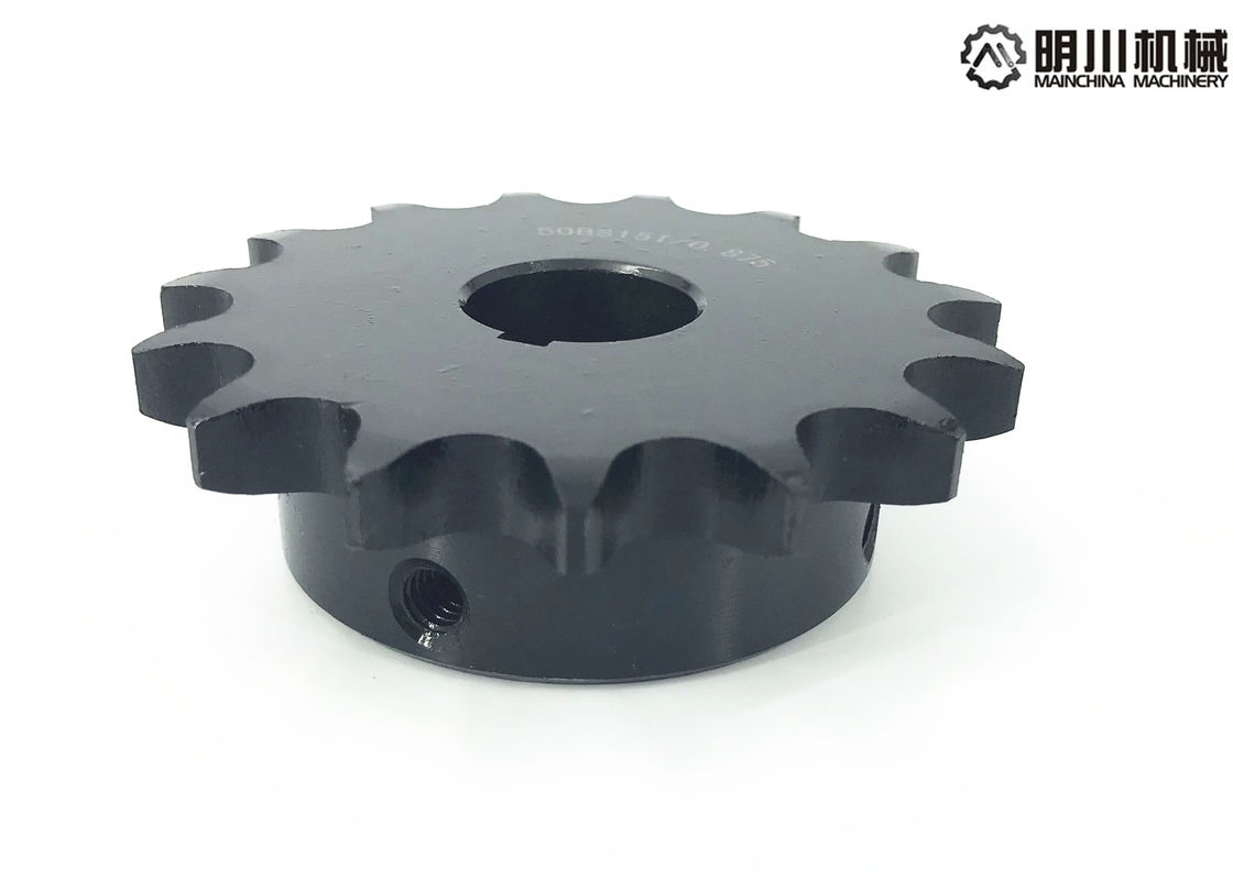 Customized Industrial Finished Bore Sprockets Hard Teeth Heat Treatment